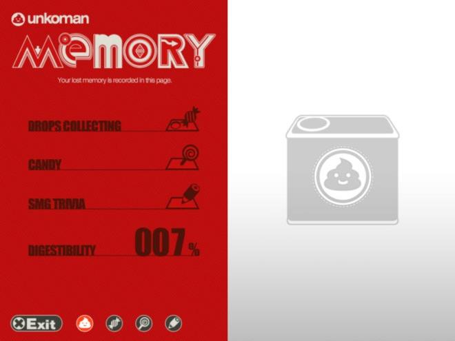 Memory screen