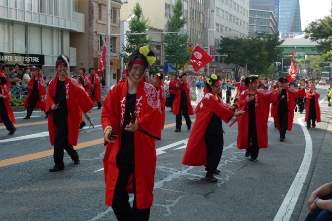 All girl parade sectors are awesome too