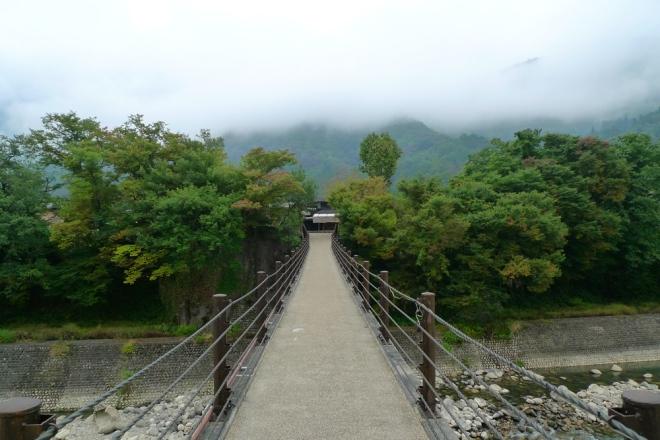 The road to Shirakawa-go